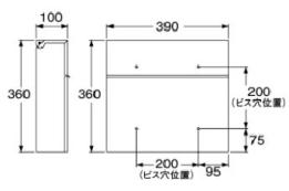 POKKE 規格寸法図